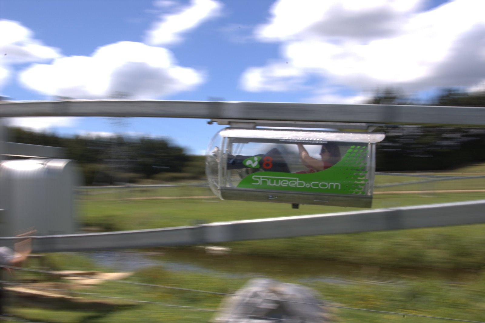 This Human-Powered Monorail is the Coolest Contraption Ever