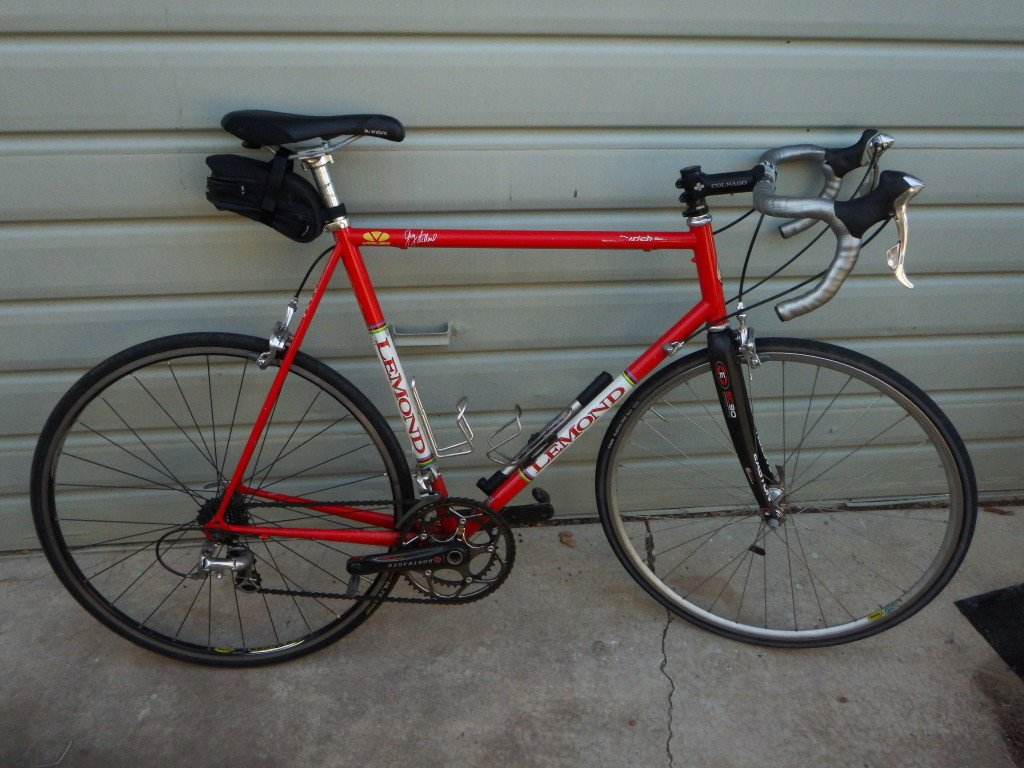One Last Ride on My 1998 Lemond Zurich