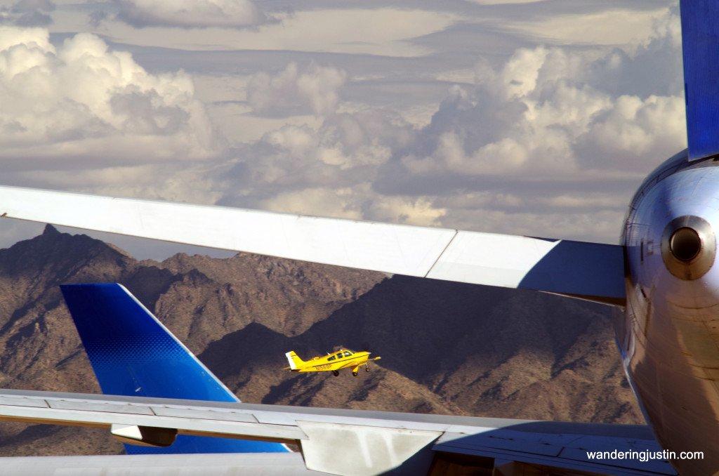 Scenes from a Desert Airplane Graveyard