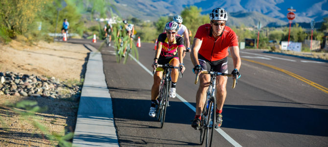 Riding the Tour De Scottsdale