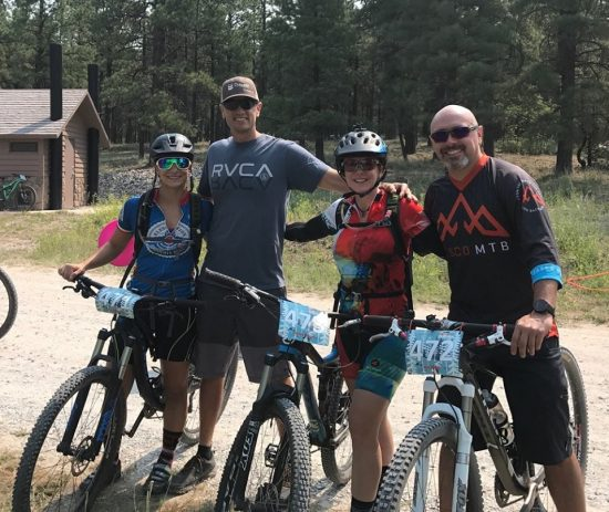 24 Hours in the Enchanted Forest Pedals WIth Warriors