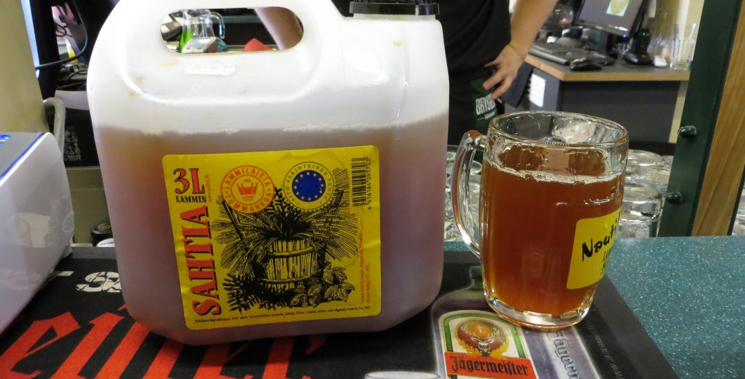 Why Craft Beer Fans Should Try Sahti in Finland