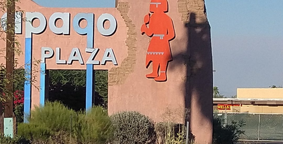 "Papago Plaza is ""Dilapidated."" And That Was the Plan."